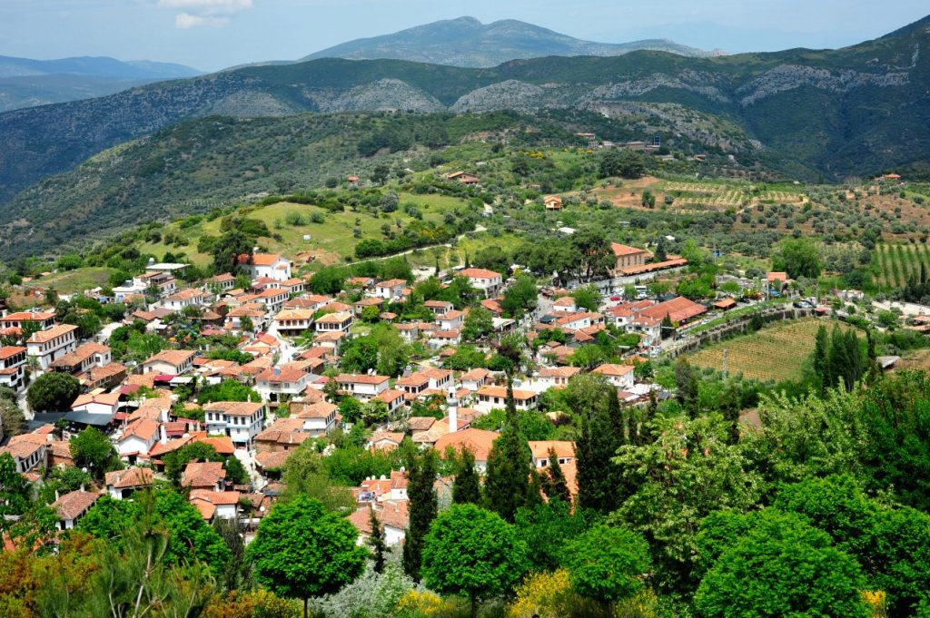 Sirince koyu greek village selcuk