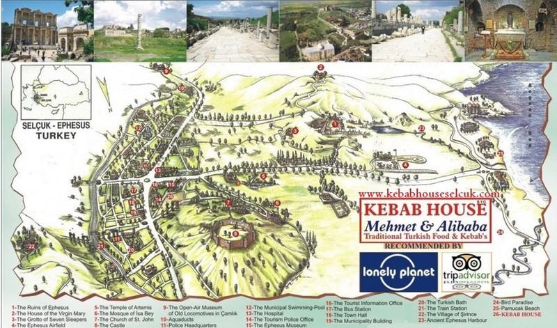 selcuk-ephesus-map